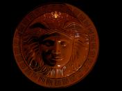 Greek medallion