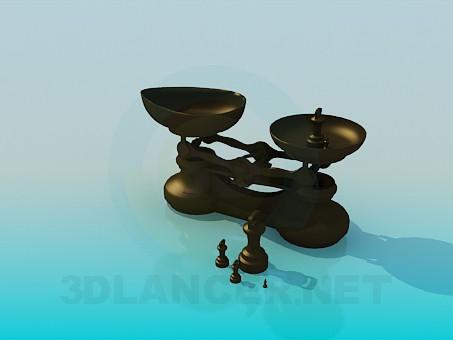 3d modeling Libra for kitchen model free download