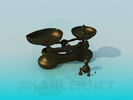 modelo 3D Libra para cocina - escuchar