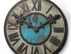 दीवार घड़ी मचान शैली 80