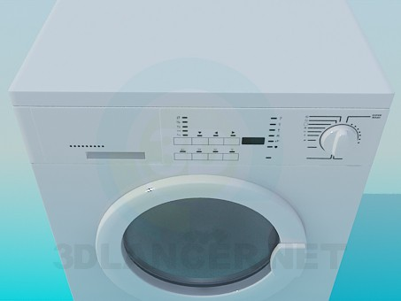 model of washing machine