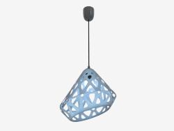 Lampe suspendue (fil noir bleu foncé)
