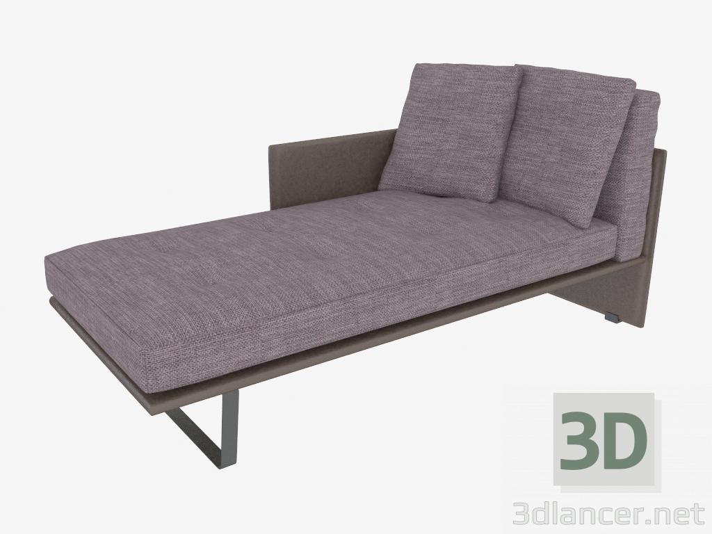 3 डी मॉडल सनबेड सामान (75x170x76) - पूर्वावलोकन