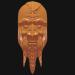 3d Mask of the old man model buy - render