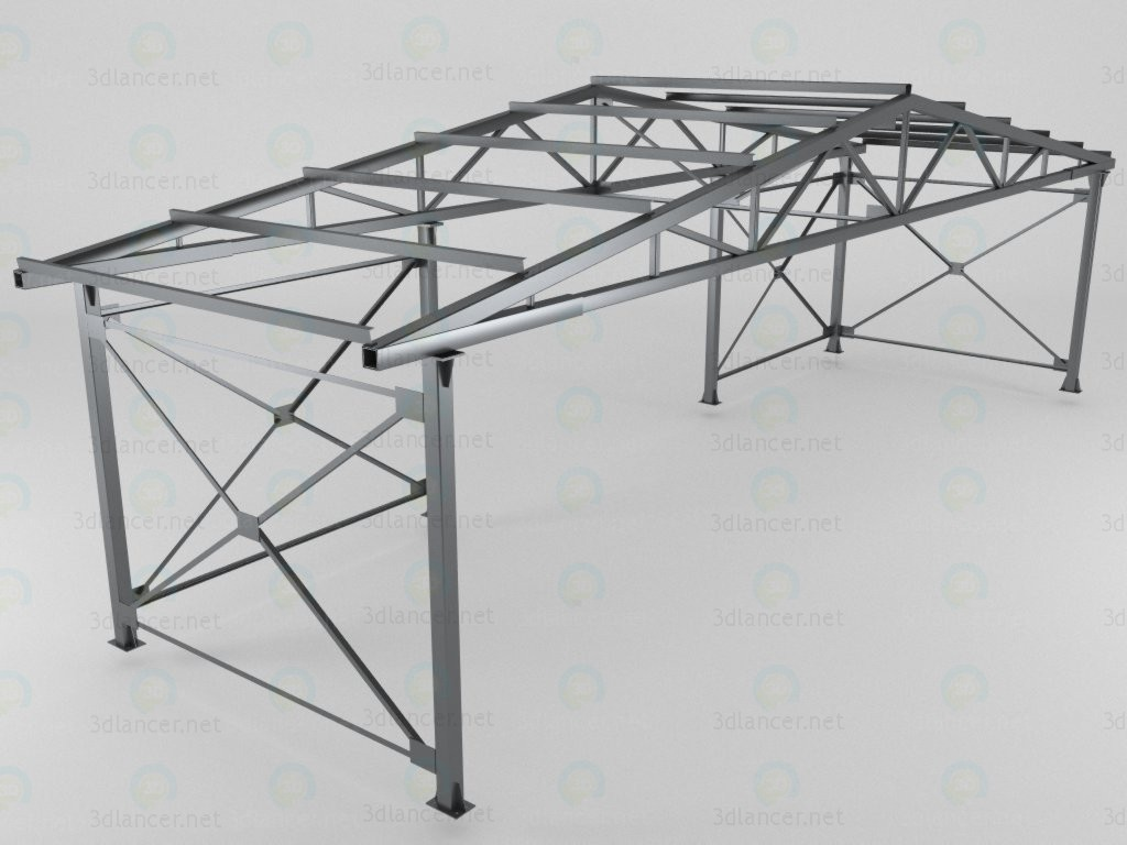 3d model Metal frame - preview