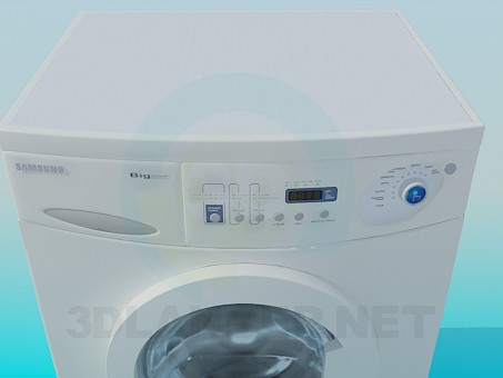3d model Washing Machine Samsung - preview