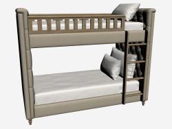 Двоярусне ліжко близнюки (002.001-F01)