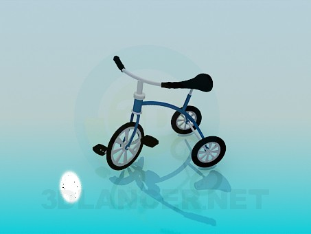 modèle 3D Tricycle - preview