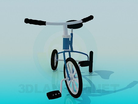 3d model Tricycle - preview