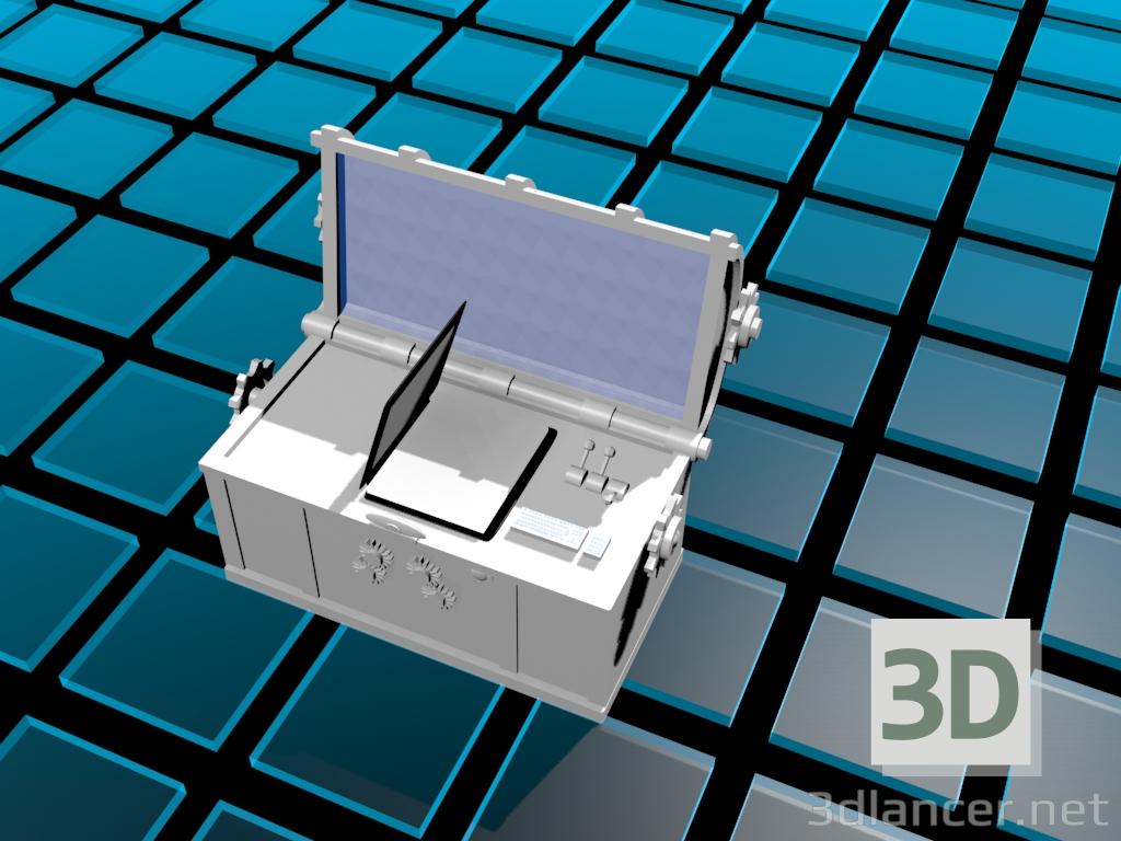 3d сундук со сказками. model buy - render