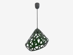 Lampe suspendue (vert drk fil noir foncé)
