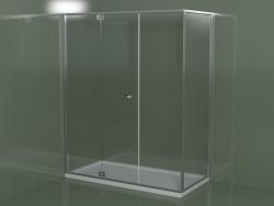 Box doccia senza telaio RM + RG con porta a battente