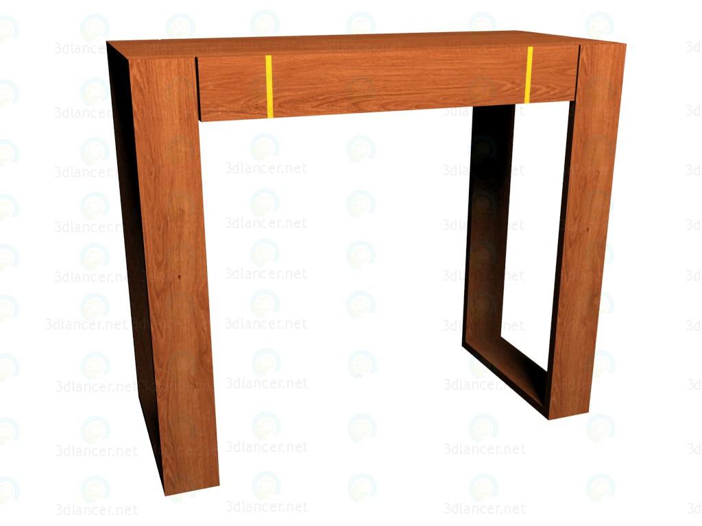 3d модель Стол туалетный VOX – превью