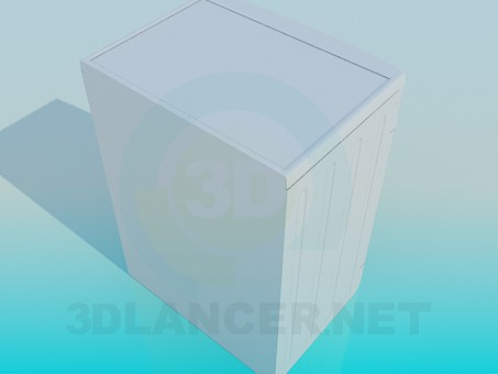 3d model Washing Machine LG - preview