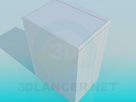 3d модель Стиральная машинка LG – превью