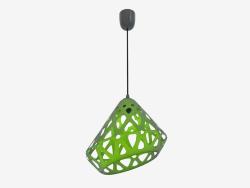 Lampe suspendue (fil noir vert foncé)