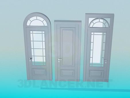 Scarica di Porte modello gratuito di modellazione 3D