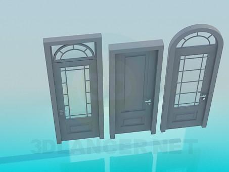 modelo 3D Puertas - escuchar