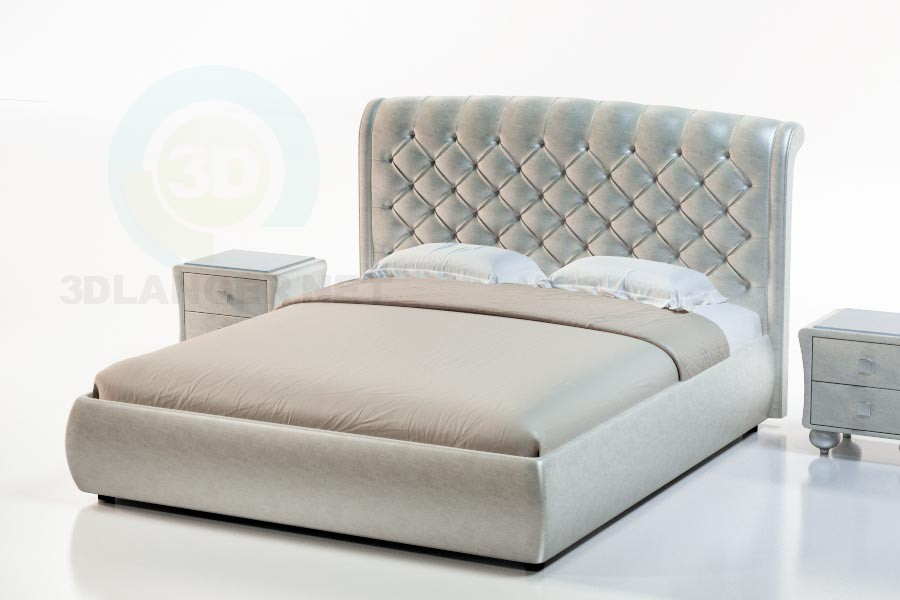 3d model Montserrat Bed Suite - preview