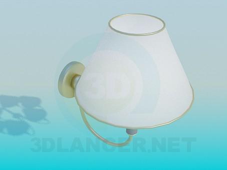 modelo 3D Lámpara de 5 Bombillas - escuchar