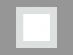 साइडवॉक लैंप ज़िप स्क्वेयर COMFORT (S8884W LED)