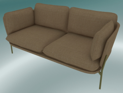 Sofa Sofa (LN2, 84x168 H 75cm, Pieds Bronzés, Hot Madison 495)