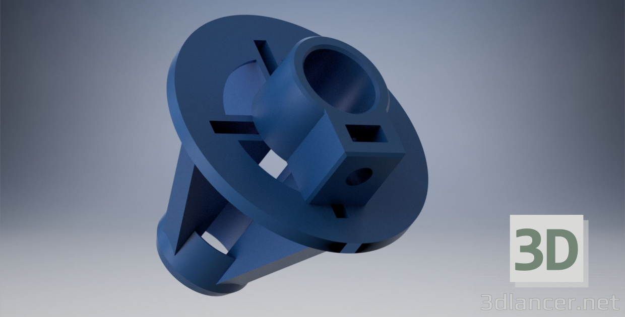 3d model pipe clamp - preview