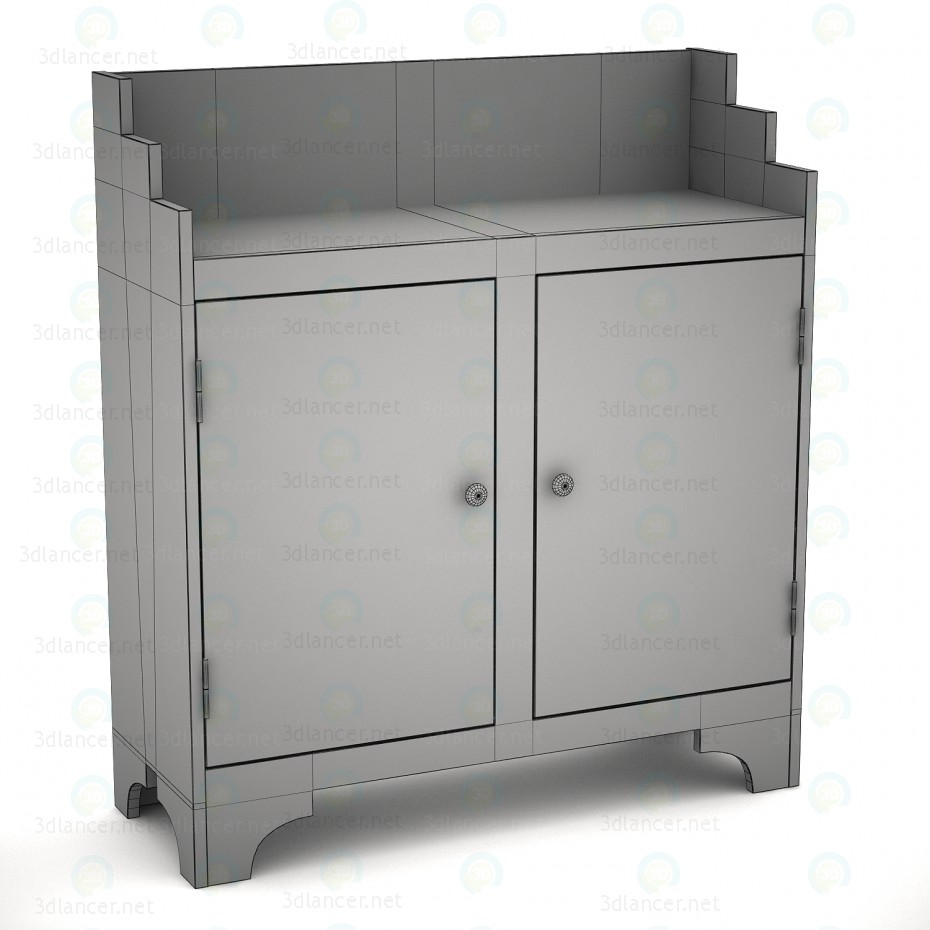 3d Sidney dresser model buy - render