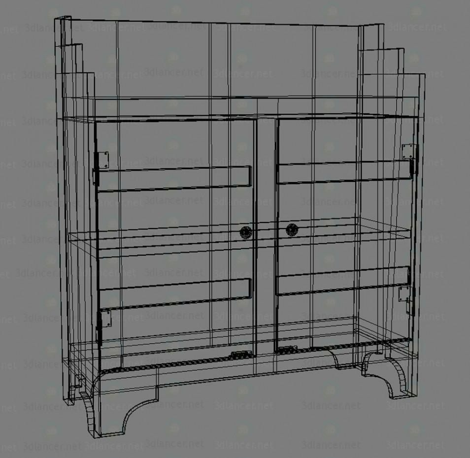 Aparador de Sidney 3D modelo Compro - render