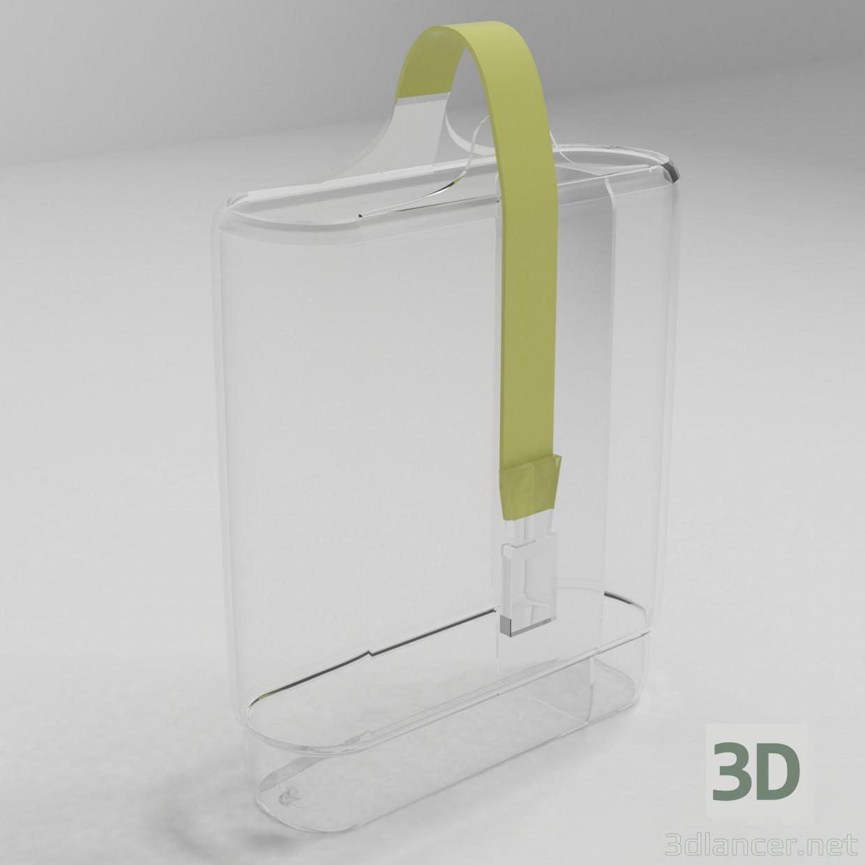 3d model Glass Bag, 3ds, - Free Download   3dlancer net
