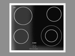 Built-in electric cooker (hob) PKF645D17A