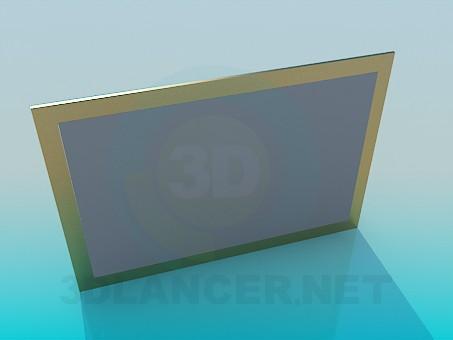 3d модель Рамка для картины – превью