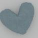 """3d model Pillow """"Heart"""" - preview"""