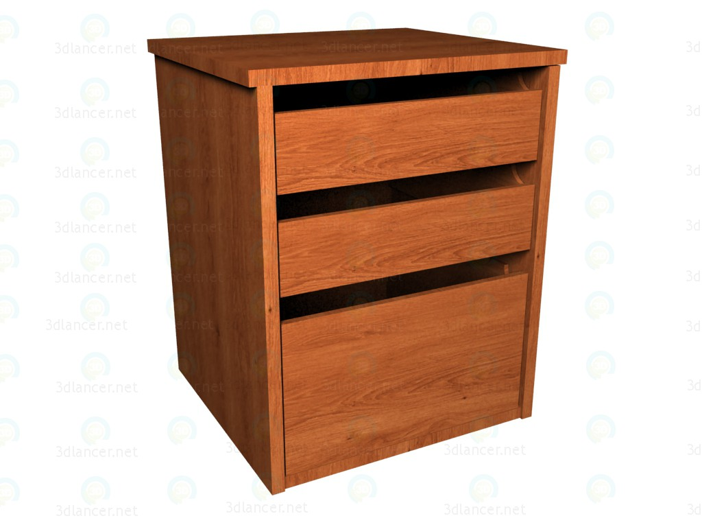 3d моделирование Ящики для шкафа модель скачать бесплатно