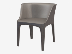 Armchair leather Diana