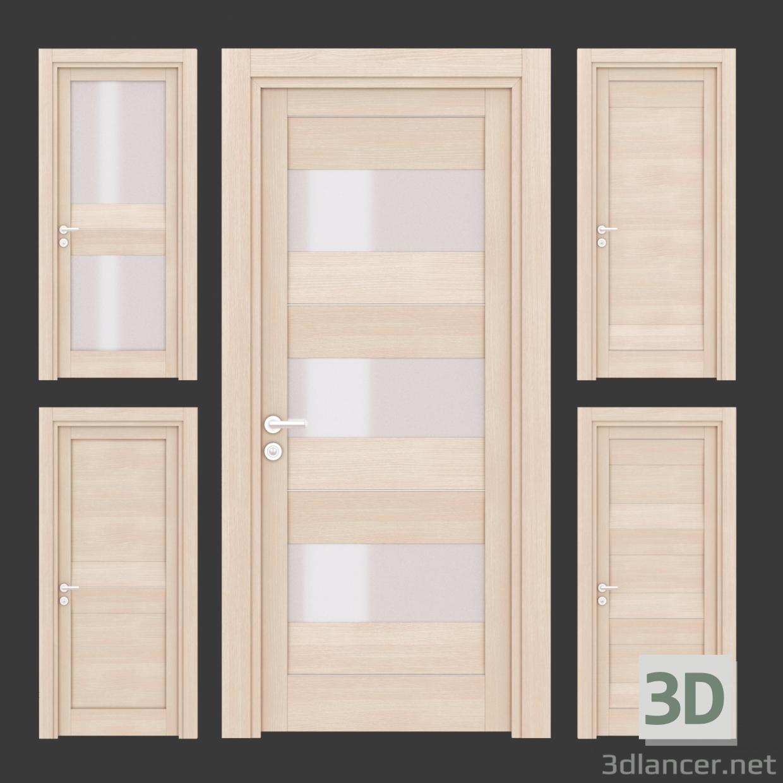 modello 3D Porte - anteprima
