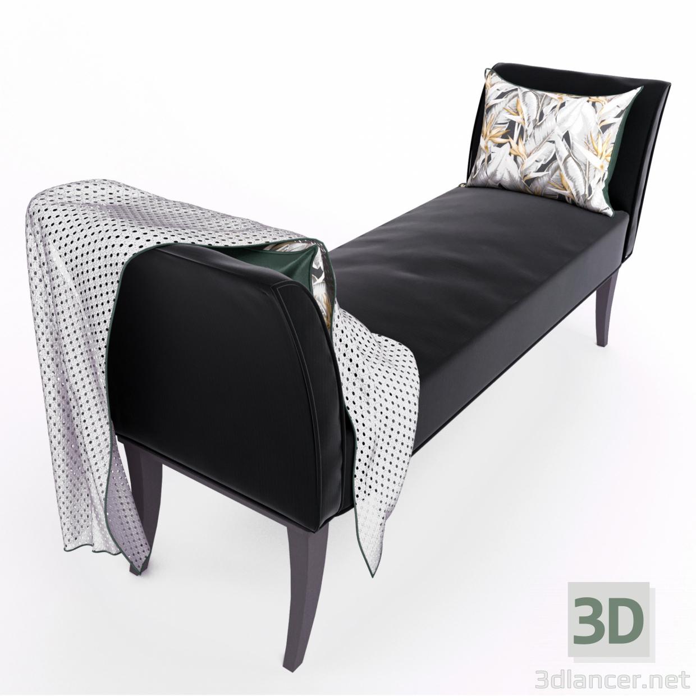 3d model Goya bench - preview