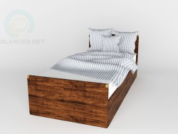 Bed Indiana BRW