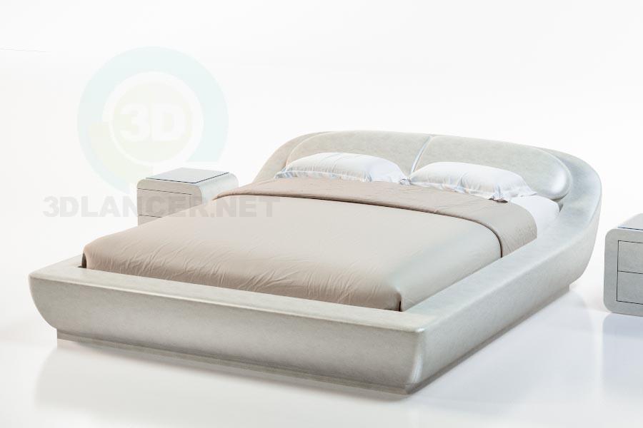 3d модель Кровать Палау – превью