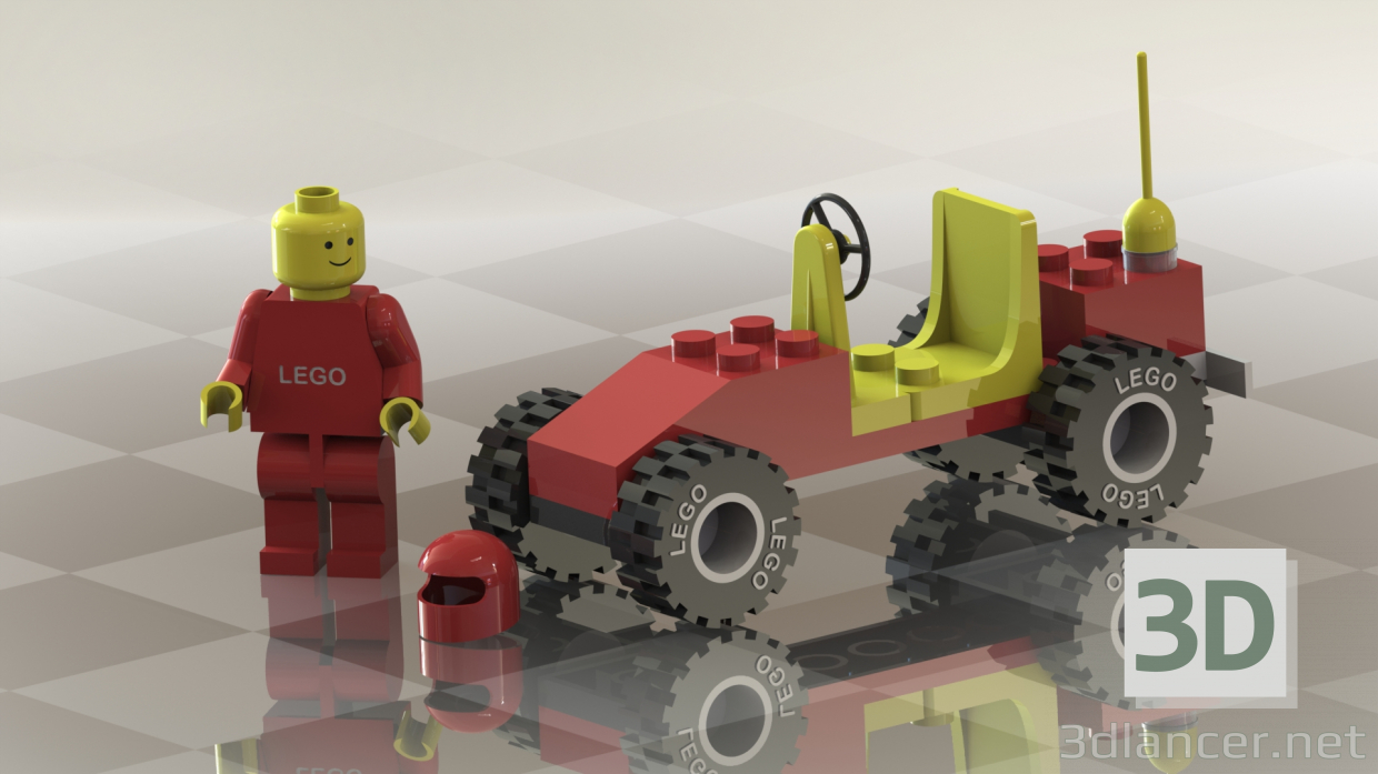 3d model Lego - preview