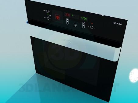 3d model Oven Gorenje - preview