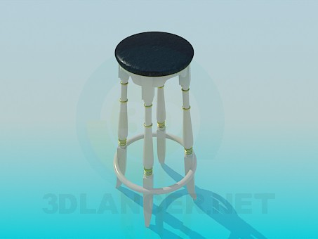 3d modeling Barstool model free download