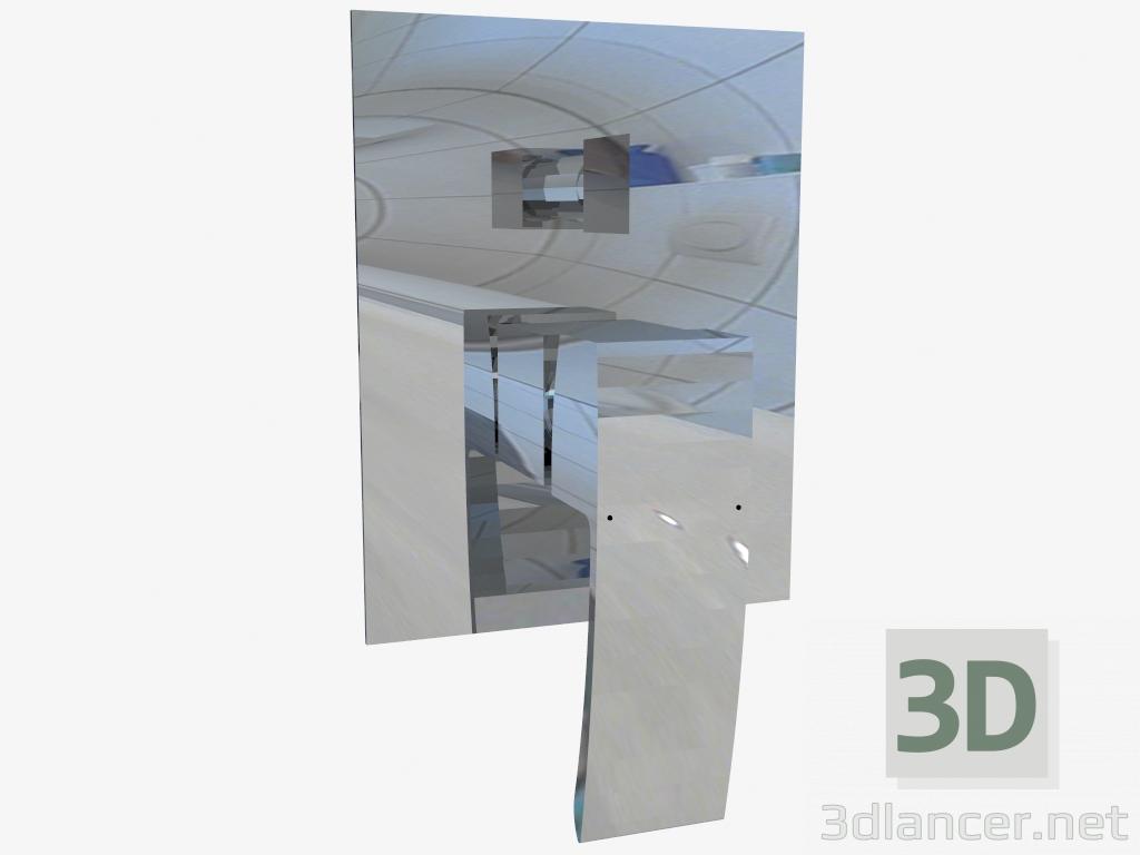 3d model Hidden shower mixer with a switch on the Vigo shower (BDW 044P) - preview