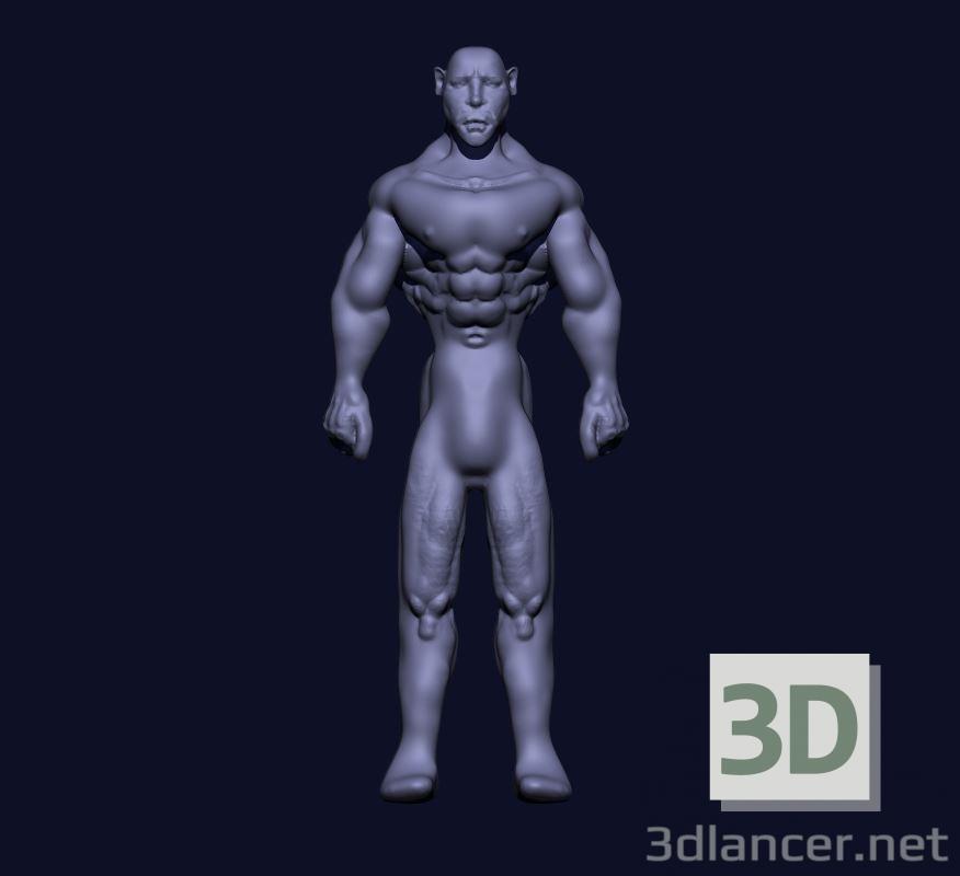 3 डी मानव मॉडल खरीद - रेंडर