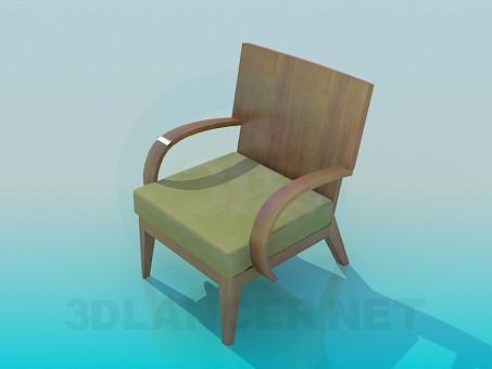 Scarica di Sedia modello gratuito di modellazione 3D