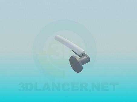 3d модель Ручка дверная – превью