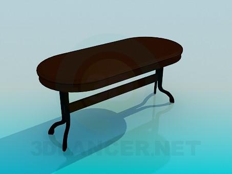 modelo 3D Mesa en el comedor - escuchar
