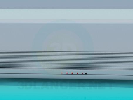 modelo 3D Aire acondicionado - escuchar