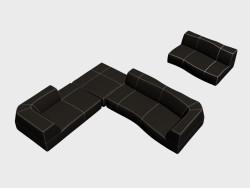 Canapés modulaires Bend