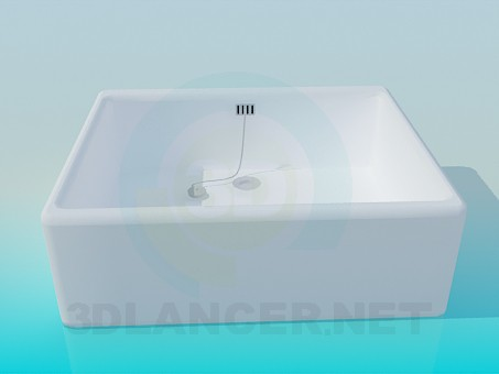 3d modeling Shower tray model free download